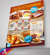 menu flyer template breakfast menu flyer template by anotherbcreation on deviantart