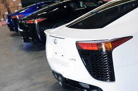 lexus whitest white paint code pearl blue lexus lfa 018 arrives in the usa youtube video inside