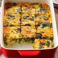 christmas breakfast brunch recipes eggs florentine casserole recipe eggs florentine christmas