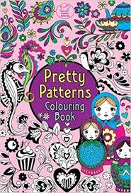 pretty patterns colouring book buster activity amazon uk