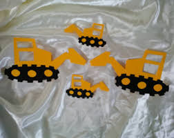 Construction Party Centerpieces by Excavator Etsy