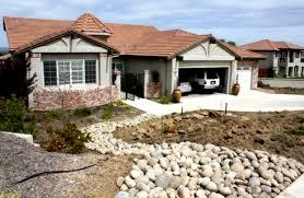 front yard desert rock landscaping ideas including great landscape