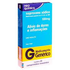 Basta Naproxeno Sódico 550mg Neo Química #GV43