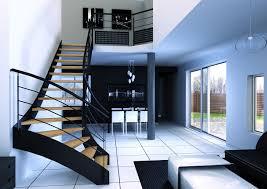 escalier design bois metal escalier