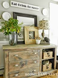 farmhouse style love the distressed repurposed dresser gorgeous
