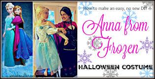 Anna Frozen Costume No Sew Anna Frozen Costume For Cheap Uncookie Cutter