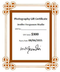 photography gift certificate template word u0026 excel templates