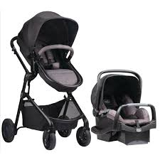 Michigan best travel system images Evenflo pivot modular travel system with safemax infant car seat 5