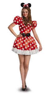 womens disney minnie mouse red u0026 white polka dot dress
