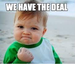 Deal Meme - meme maker we have the deal