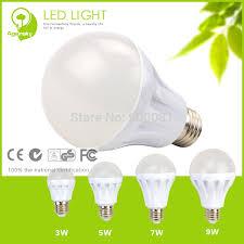 eco friendly light bulbs 3w led bulb aluminum housing 2700k 4000k anti glare warm cool white