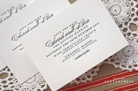wedding invitations queensland and ben