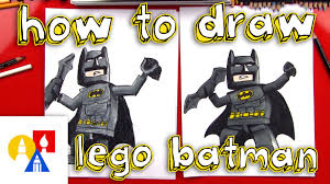 draw lego batman