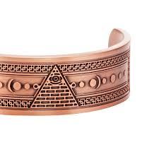 copper bangle bracelet images Masonicman engraved pure copper bangle bracelet jpg