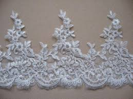 lace ribbon by the yard 2017 21 5cm wide gorgeous wedding cord lace ribbon yard diy
