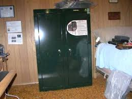 14 gun steel security cabinet stack on 8 gun steel security cabinet forest green gcb 908 spark