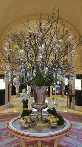easter egg trees the easter display in the ritz london lobby easter ideas