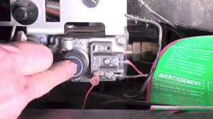 Fireplace Igniter Switch how the fireplace thermopile system is wired youtube
