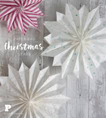 paper bag christmas stars pysselbolaget fun easy crafts for