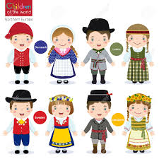 philippines traditional clothing for kids kids in traditional costume denmark latvia sweden and lithuania