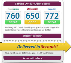 three bureau credit report free credit from all 3 credit bureaus fast secure