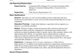Sample Resume Without Experience by Bank Teller Resume With No Experience Reentrycorps
