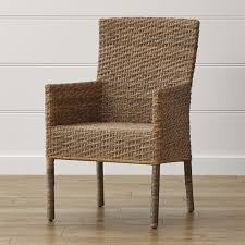 tigris dining arm chair crate and barrel