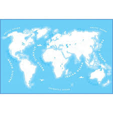 World Map Wall Poster by Wall Colour In World Map Wallpaper Mural 1 58m X 2 32m
