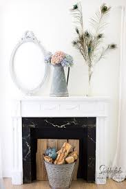 farmhouse decorating ideas for the fireplace mantel and 20