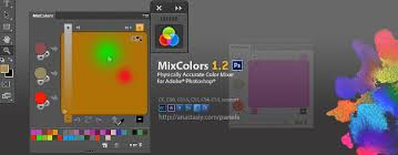 mix digital colours like paint with mixcolors 1 2 cg channel