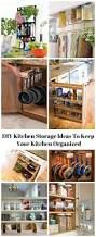16 clever diy kitchen storage ideas to keep your kitchen organized