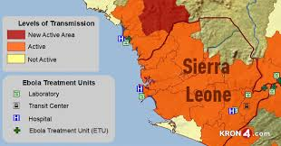 west africa map ebola 2014 ebola outbreak in west africa outbreak distribution map