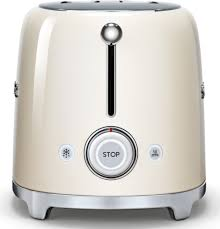 Retro Toaster And Kettle Smeg Tsf01crus Countertop Toaster With 2 Slice Capacity Defrost