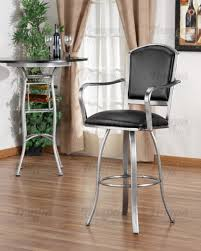 Swivel Bar Stool With Arms Tempo Furniture Dunhill Swivel Bar Stool With Arms