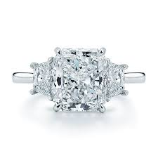 engagement rings 100 style 17603r 100 1 05 carat radiant cut center set in