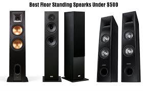 best speakers 10 best floor standing speakers under 500 in 2017 atechreview com