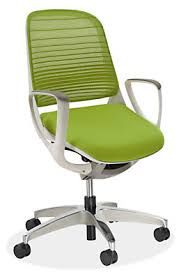 luce office chair in white modern office chairs u0026 task chairs