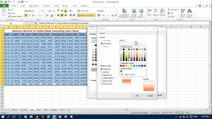 fill colors patterns and gradients to cells in excel youtube
