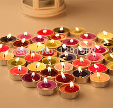 Candle Centerpieces For Birthday Parties by Multi Color Environmental Protection No Smoke Scented Candles