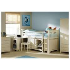 Mid Sleeper Bunk Bed Julian Bowen Cameo Right Mid Sleeper Bunk Bed Stone White