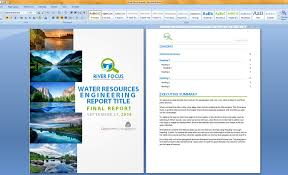 design of cover page for project entry 13 by angyt for design cover page and word report template