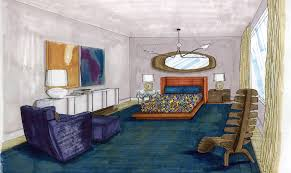 john wooden u0027s master bedroom inspired by pierre cardin wired
