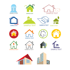 house logo design templates vector free vectors pinterest