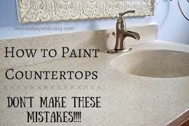 what type of paint to use on formica cabinets how to paint a countertop don t make these mistakes