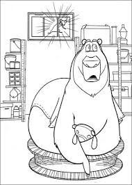 boog bear coloring page free printable coloring pages