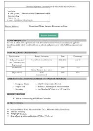 free resume templates microsoft word 2008 simple resume format in word http jobresumesle com 1102