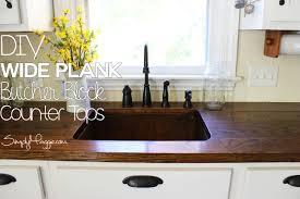 decor fabulous butcher block counter top for kitchen decoration