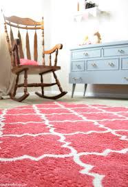 baby nursery decor adorable pink rug for baby nursery themes