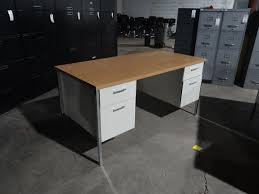 Metal Office Desk Used Metal Desk Used Desks Office Furniture Warehouse