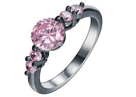 Pink Wedding Rings by Black Gold And Pink Diamond Engagement Rings Wedding Rings Model